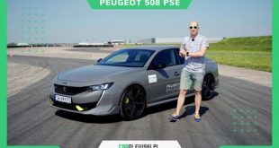 Peugeot 508 PSE 360KM 2021 na torze. Chuligan w garniturze !  – [Video]