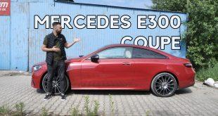 Mercedes E300 Coupe – dodaje stylu wszędzie, nawet w takich miejscach  – [Video]