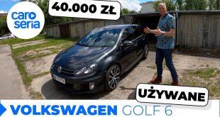 UŻYWANY Volkswagen Golf 6 GTD, czyli sportowiec za 40.000 zł | CaroSeria  – [Video]