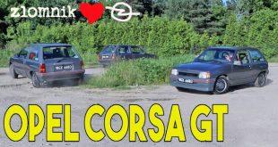 Złomnik: Corsa GT to Opel z rigczem  – [Video]