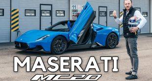 Maserati MC20 – pierwsza jazda na drodze i na torze!  – [Video]