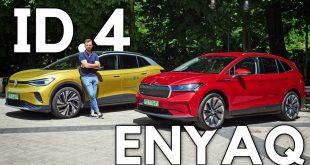 Skoda Enyaq vs Volkswagen ID.4 – niby to samo, ale nie do końca  – [Video]