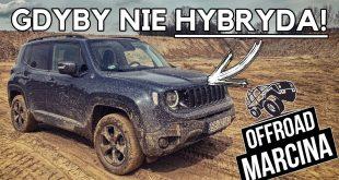 Jeep Renegade Trailhawk 4xe w terenie – potencjał jest, ale… hybryda  – [Video]