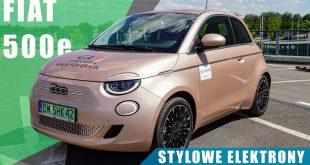 Fiat 500e 3+1 Icon 118KM 2021. Stylowe elektrony z Włoch.  – [Video]