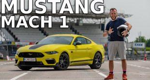 Ford Mustang Mach 1: szybka runda na Autodromie Słomczyn  – [Video]