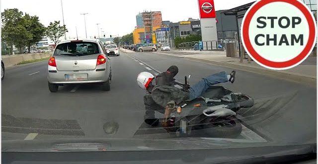 Potrącenie motocyklisty w Gdańsku #660 Wasze Filmy  – [Video]