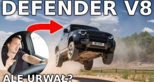 Land Rover Defender – Nowe silniki w Europie. V8 też!  – [Video]