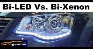 Bi-LED Vs. Bi-Xenon TEST modyfikacja lamp V6 Vlog muzyk jeździ  – [Video]