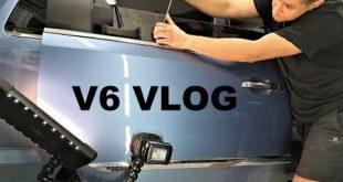 Pęknięta szyba / gradobicie? V6 VLOG Chrysler Town & Country muzyk jeździ  – [Video]