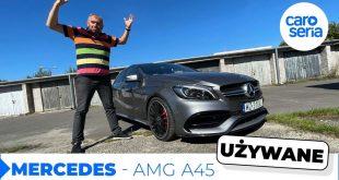 UŻYWANY Mercedes-AMG A45, czyli nawet po latach kosztuje majątek (TEST PL 4K) | CaroSeria  – [Video]