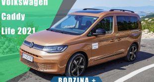Volkswagen Caddy V Life 2.0 TDI DSG 122KM 2021. Rodzina + !  – [Video]