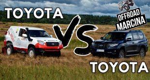 Offroad Marcina: Toyota Land Cruiser – rajdowa kontra fabryczna  – [Video]