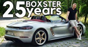 Porsche Boxster 25 – firma zawdzięcza mu życie  – [Video]