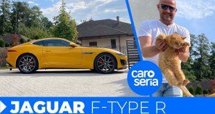 Jaguar F-type R, czyli pierwsze koty za płoty (TEST PL 4K) | CaroSeria  – [Video]