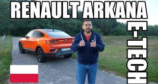 Renault Arkana E-Tech – hybryda typu coupe (PL) – test i jazda próbna  – [Video]