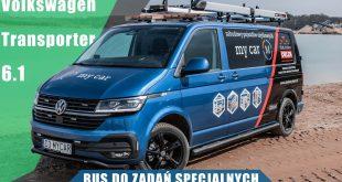Volkswagen Transporter 6.1 2.0 TDI 204KM 2021. Bus do zadań specjalnych.  – [Video]
