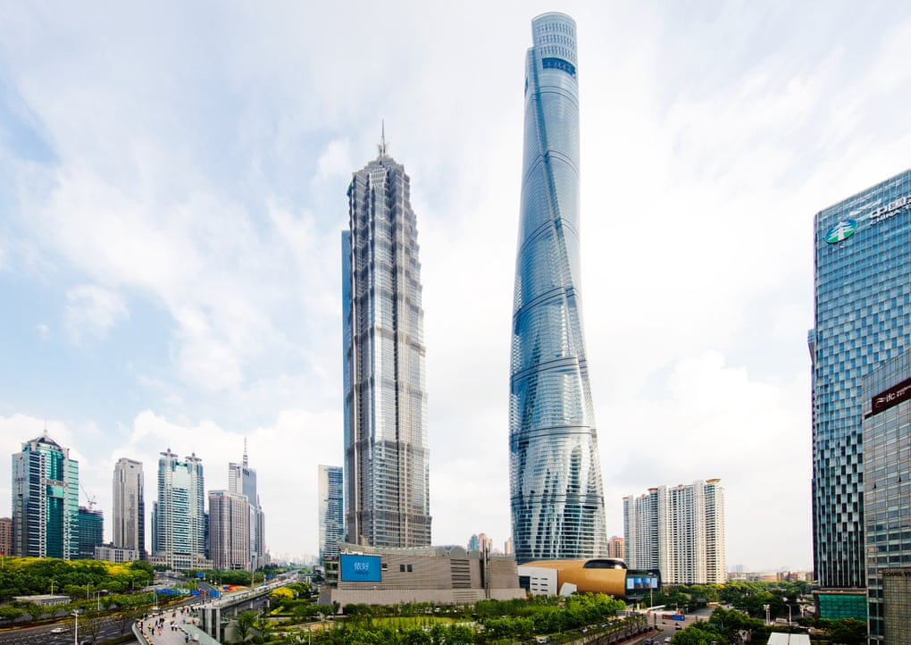 Shanghai Tower sustainable building technology example
