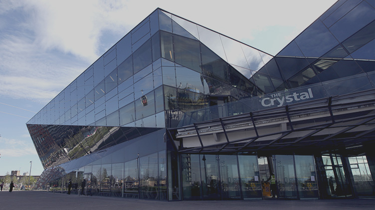 Sustainable building example -Crystal by Siemens