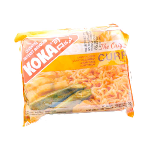 Koka Curry Noodle 85g - £0.45