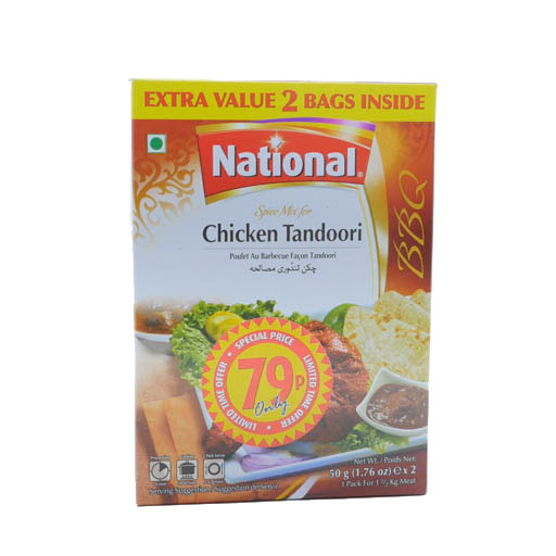 National Chicken Tandoori 50g - £0.79