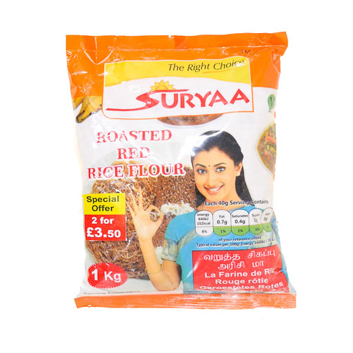 Suryaa Roasted Red Rice Flour 1kg - £1.99