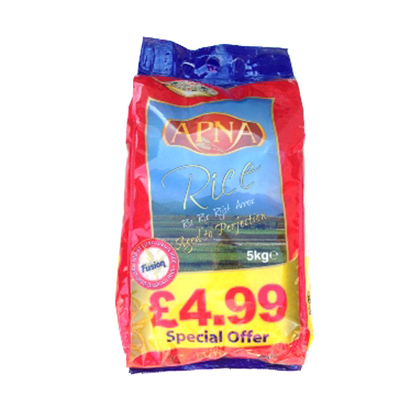 Apna Rice 5kg - £4.99