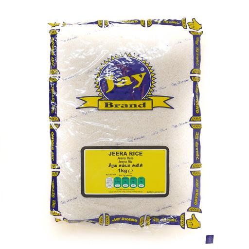 JAY Jeera Rice 1kg - £1.99