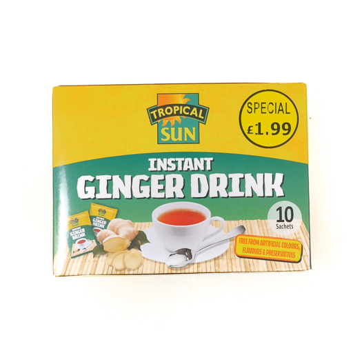 Tropical Sun  Instant Ginger Drink