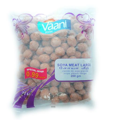 Vaani Soya Meat Large 200g - £0.99