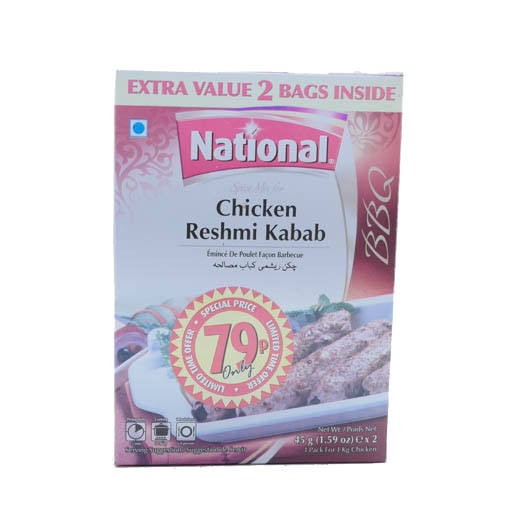 National Chicken Reshmi Kabab 45g - £0.79