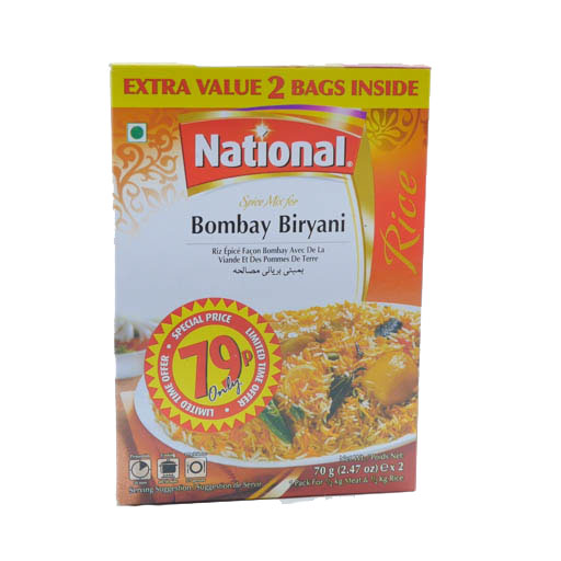 National Bombay Briyani Mix