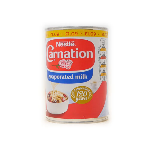 Carnation Evaporated Milk  410g - £0.99