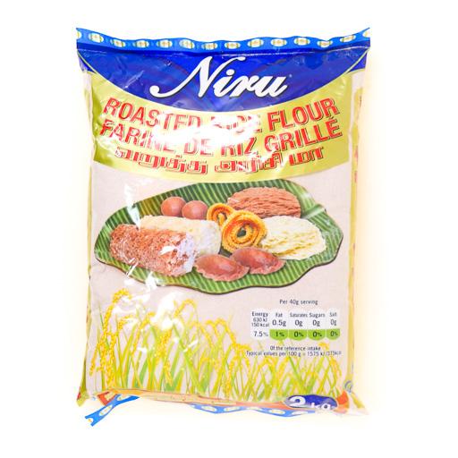 Niru Roasted Red Flour 3.2kg - £4.99