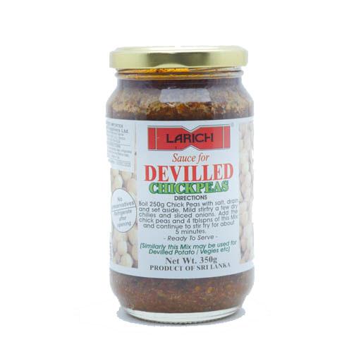 Larich Chick Peas Devilled Sauce 350g - £2.69