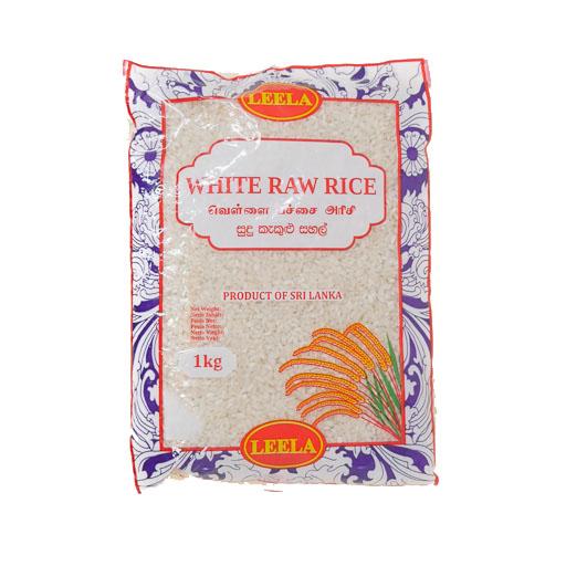 Leela White Raw Rice