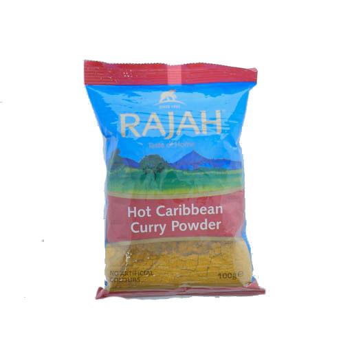 Rajah Hot Caribbean Curry Powder 100g - £0.79