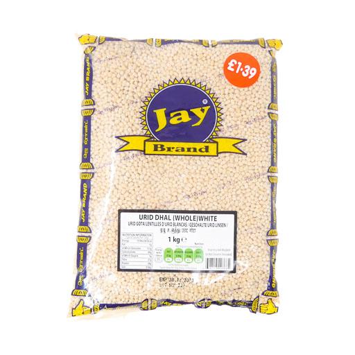 JAY Urid Dhal (White) 1kg - £1.39