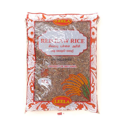 Leela Red Raw Rice