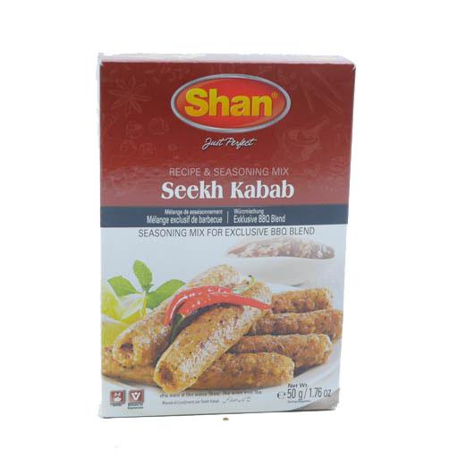 Shan Tikka Seekh Kabab 50g - £0.79