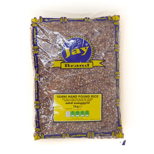 JAY Vanni Hand Pound Rice 1kg - £1.79
