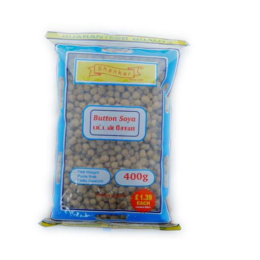 Shankar Button Soya 400g - £1.39