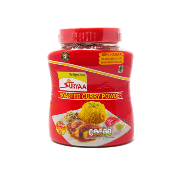 Suryaa Curry Powder Extra Hot 500g - £3.49