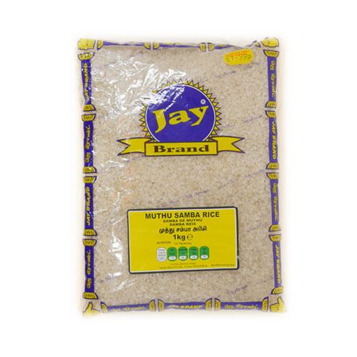 JAY Muthu Samba Rice 1Kg - £1.99
