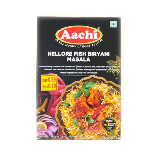 Aachi Nellore Fish Biryani Masala