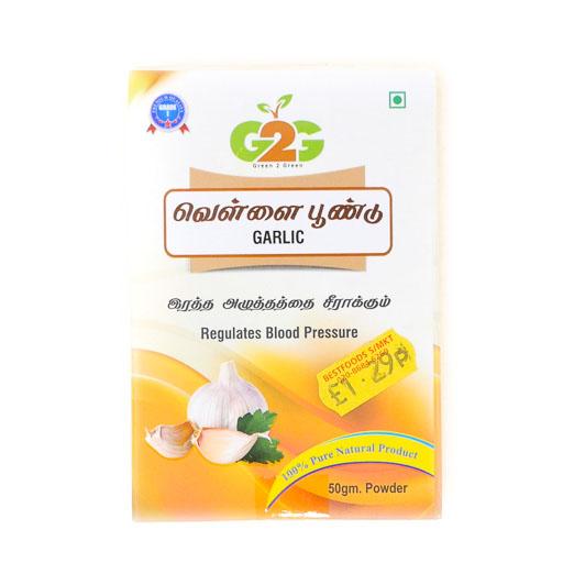 G2G Garlic 50g - £1.29