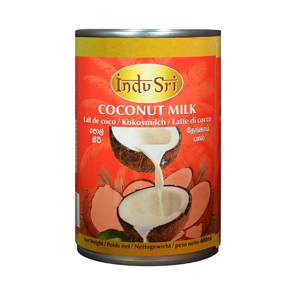 Indu Sri Coconut Milk 400ml - £0.79