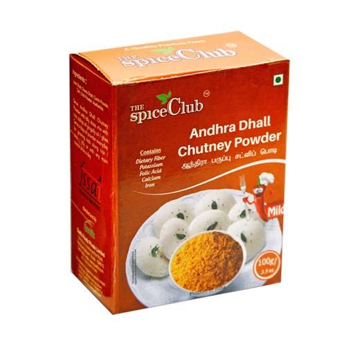 Spice Club Andhra Dhall Chutney Powder 100g - £1.20