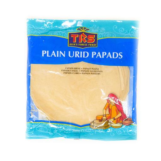 TRS Plain Urid Papads 200g - £1.20