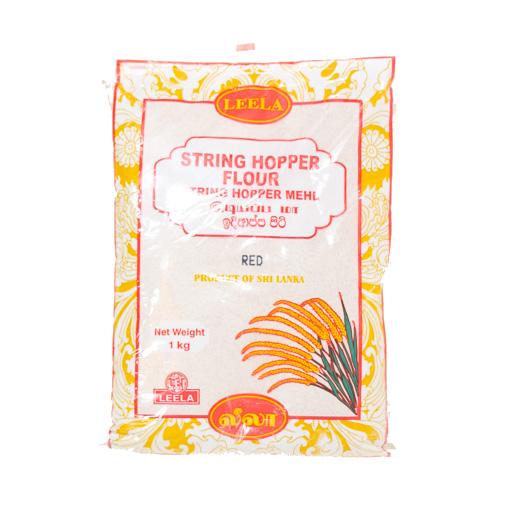 Leela String Hopper Flour Red 1kg - £1.69
