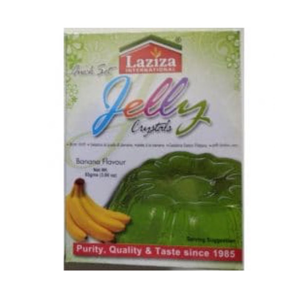 Laziza Jelly Crystals Banana